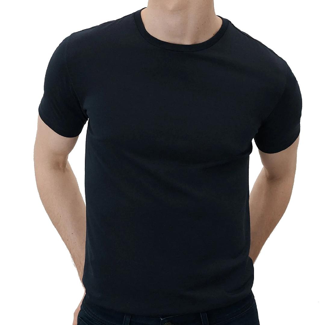 Camiseta Ricardo Almeida Lisa Manga Curta