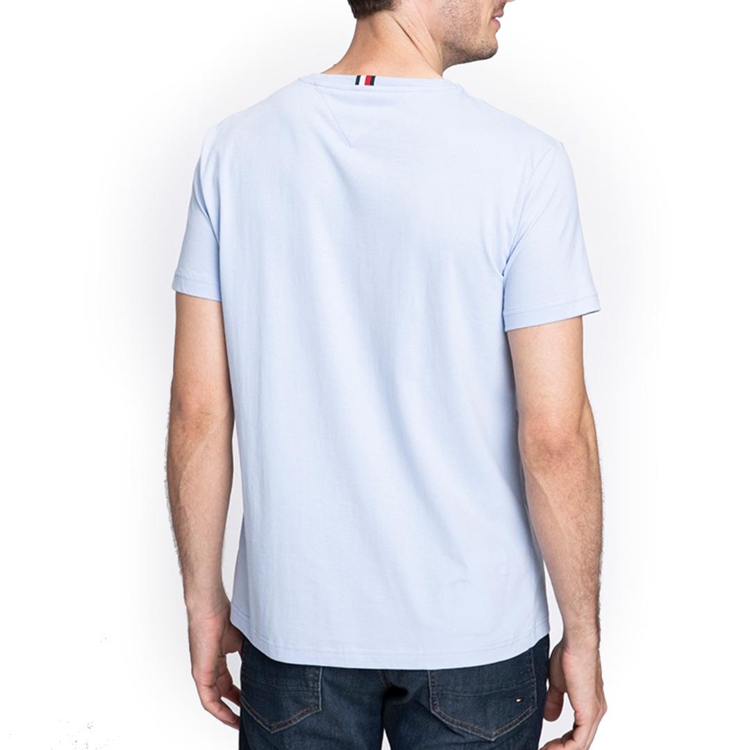 Camiseta Tommy Hilfiger Bordado Manga Curta