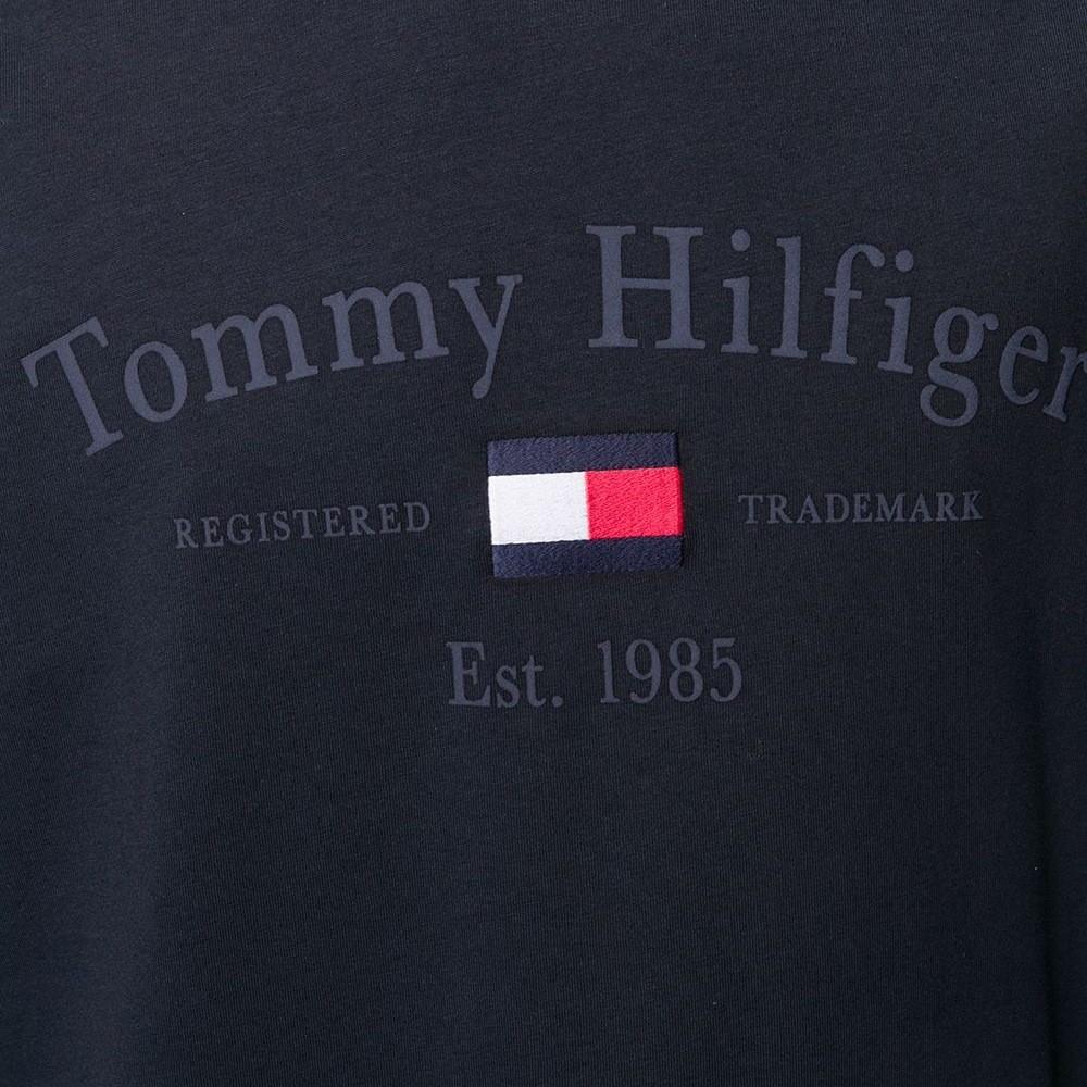 Camiseta Tommy Hilfiger de algodão com logo