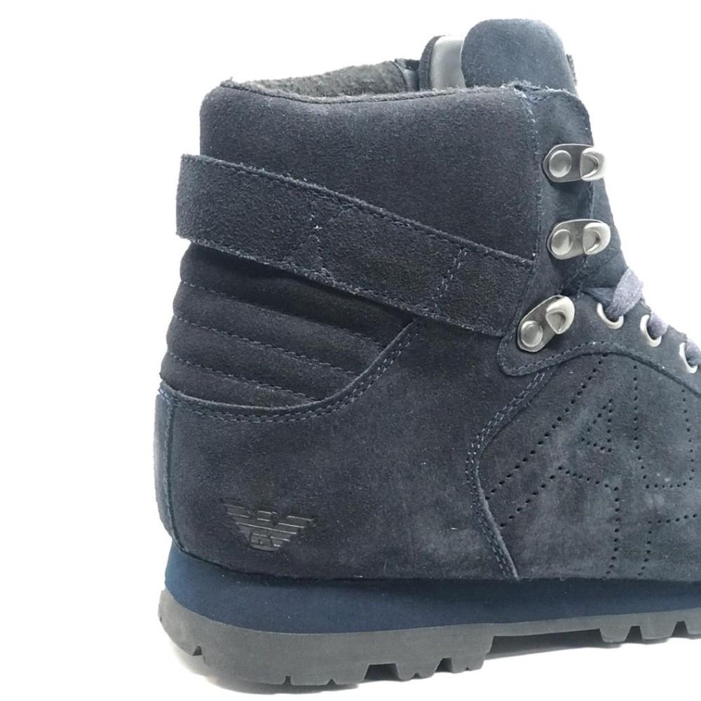 Coturno Armani Jeans Azul