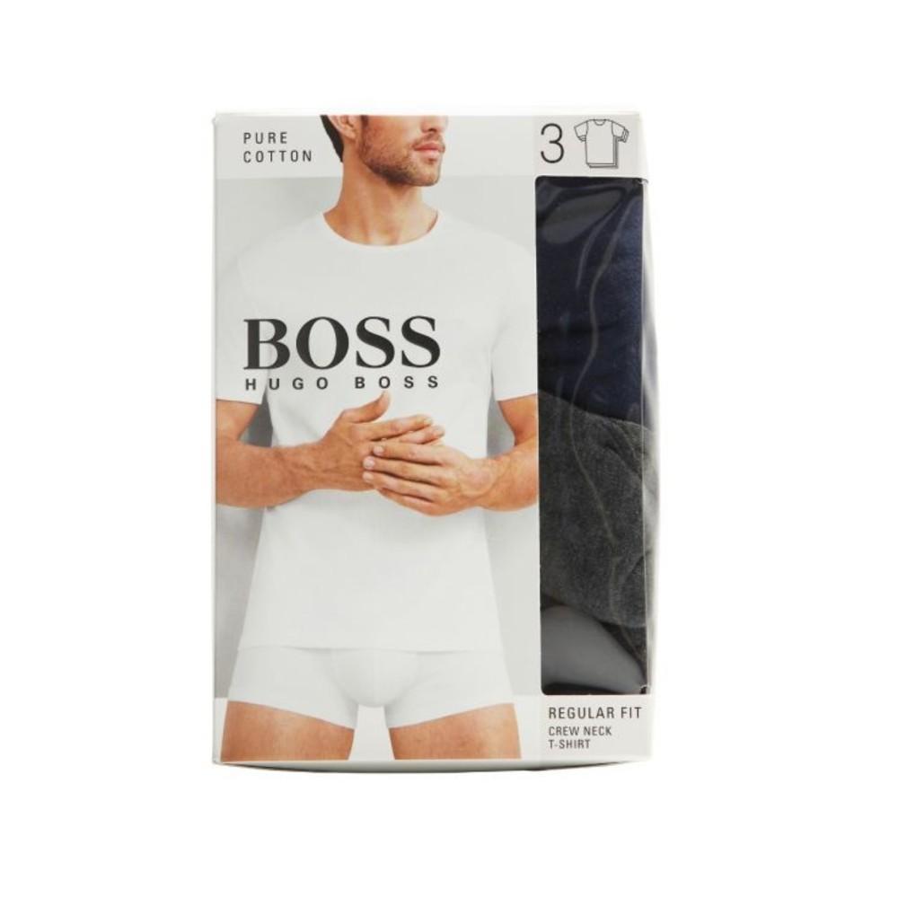 Hugo Boss 3 pack of regular-fit cotton T-shirts