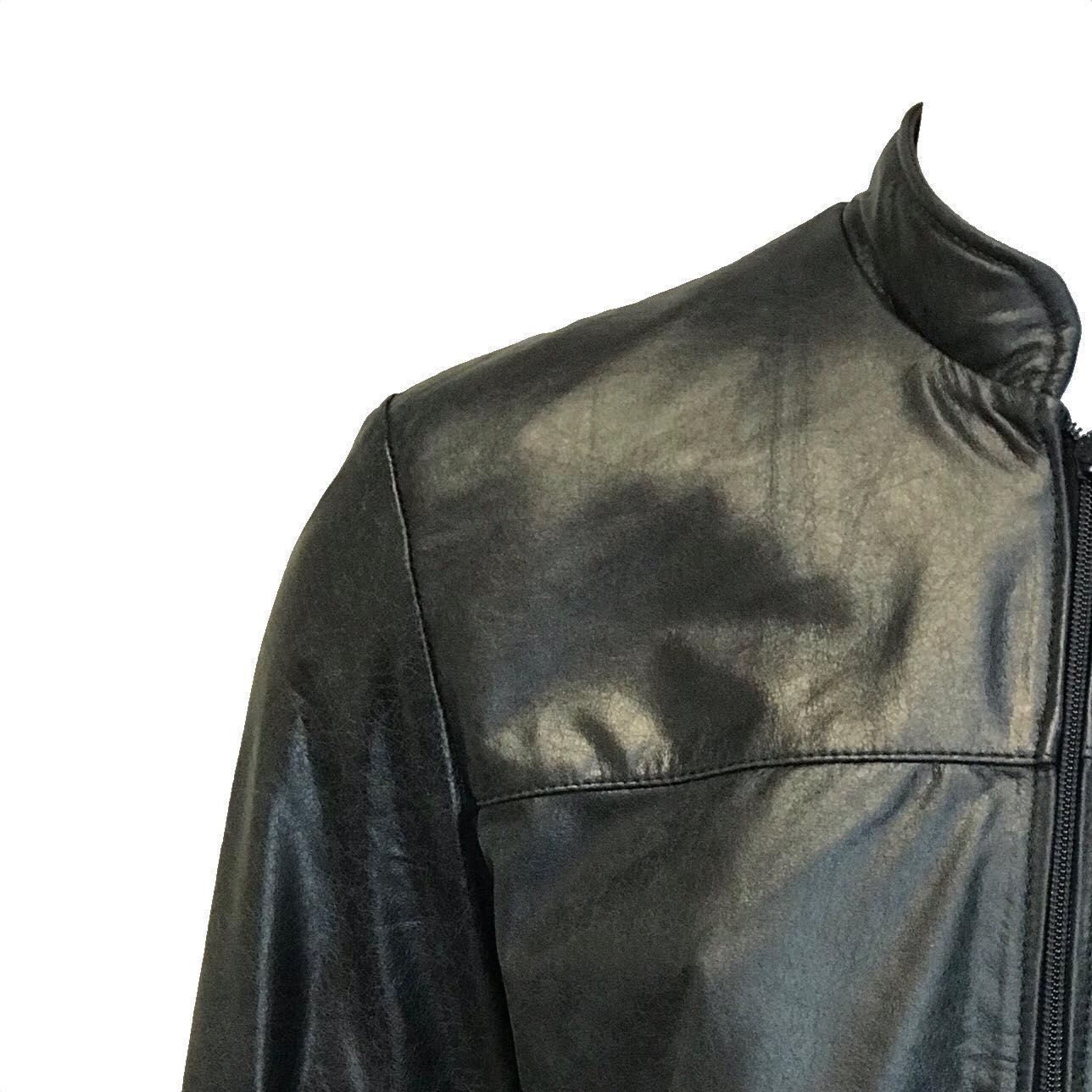 Jaqueta de Couro Quadra 10 127AMP