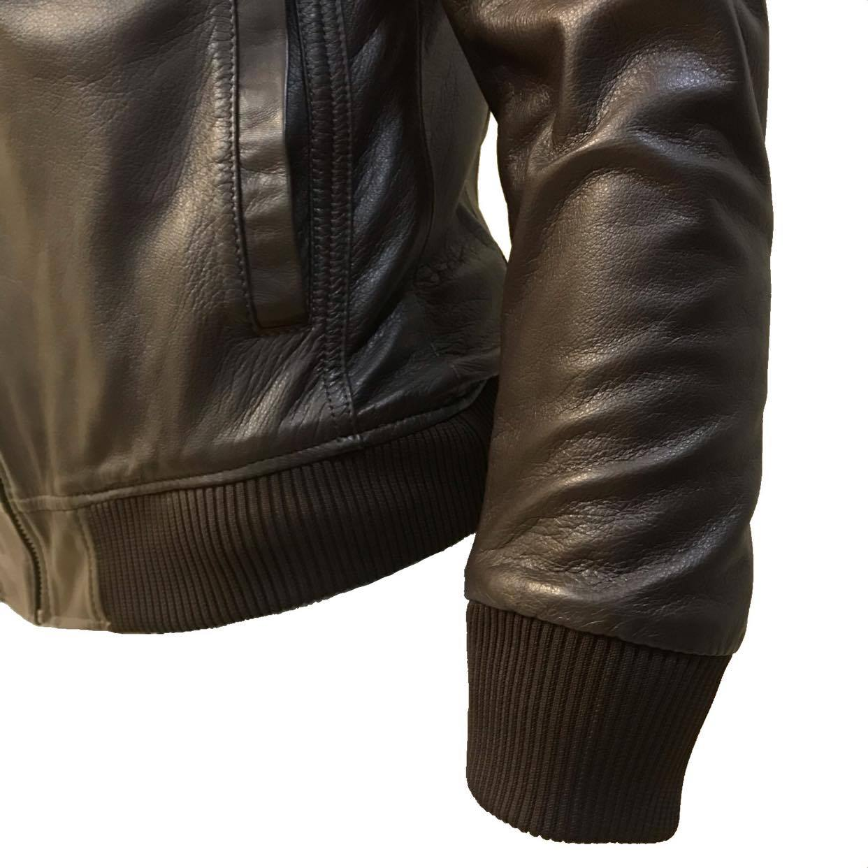 Jaqueta de Couro Quadra 10 773MP