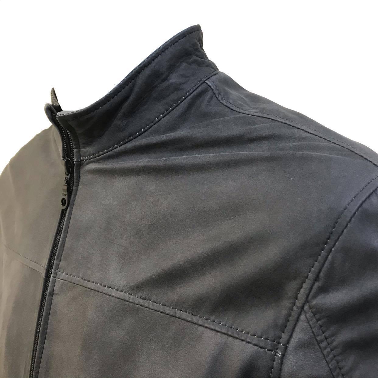 Jaqueta de Couro Quadra 10 775AMP
