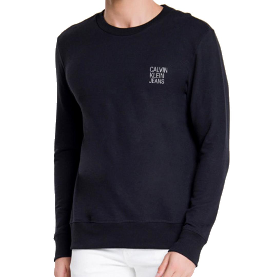 Moletom Calvin Klein Jeans Liso Gola Careca