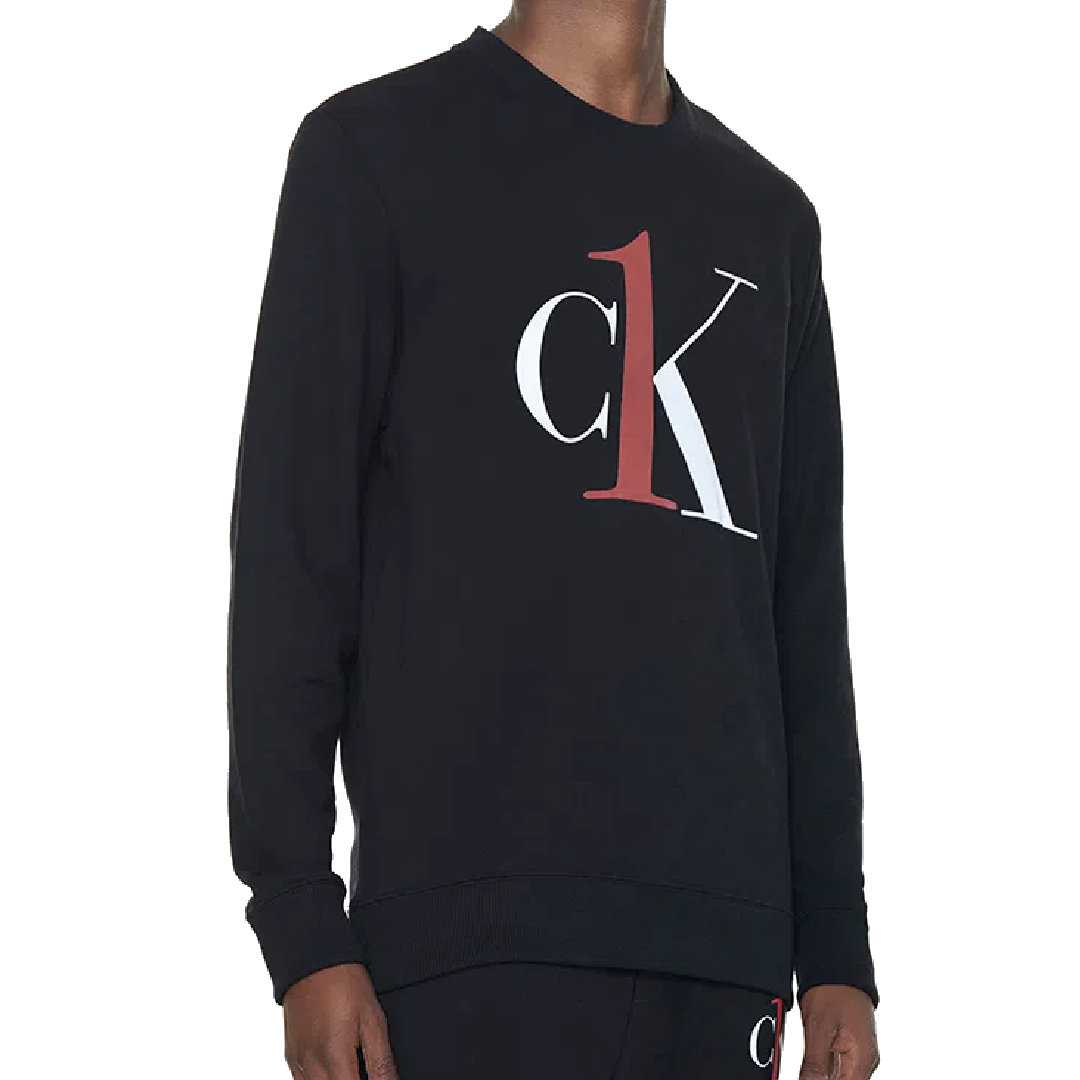 Moletom Calvin Klein One Gola Careca