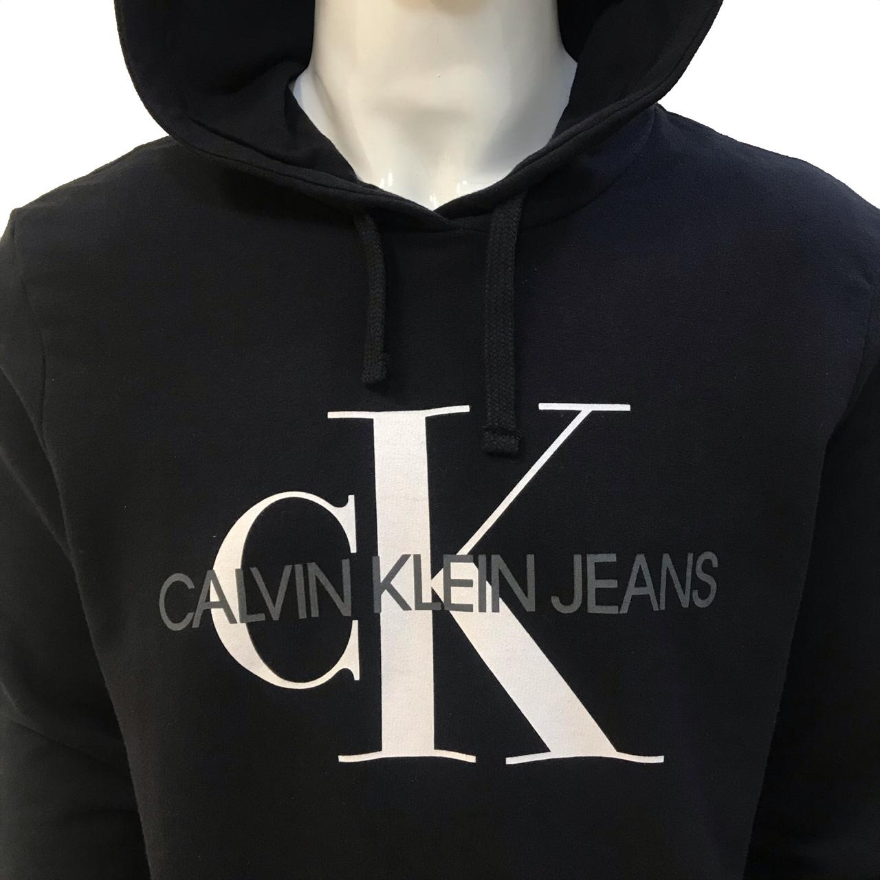 Moletom Fechado com Capuz Calvin Klein Jeans