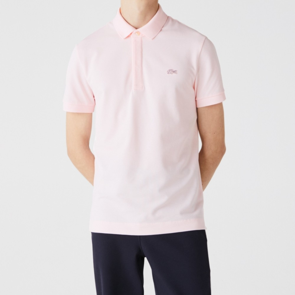 Polo Lacoste Paris Regular Fit Masculina