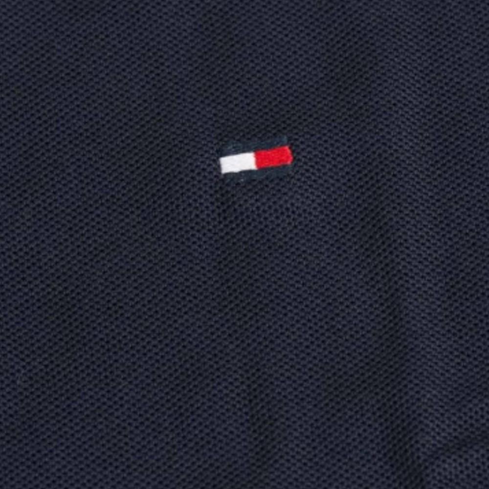 Polo Tommy Hilfiger em Piquet , Custom Fit , manga curta