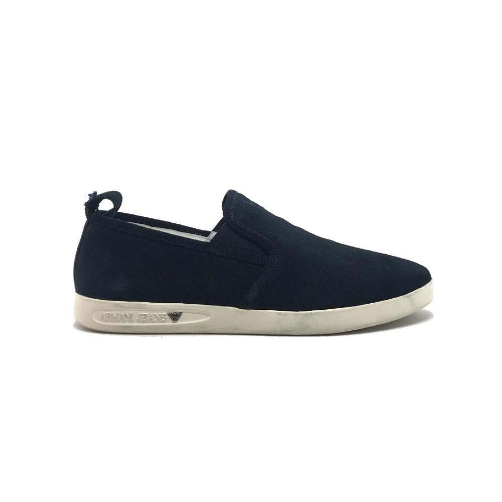 Sapato Armani Jeans Azul Marinho