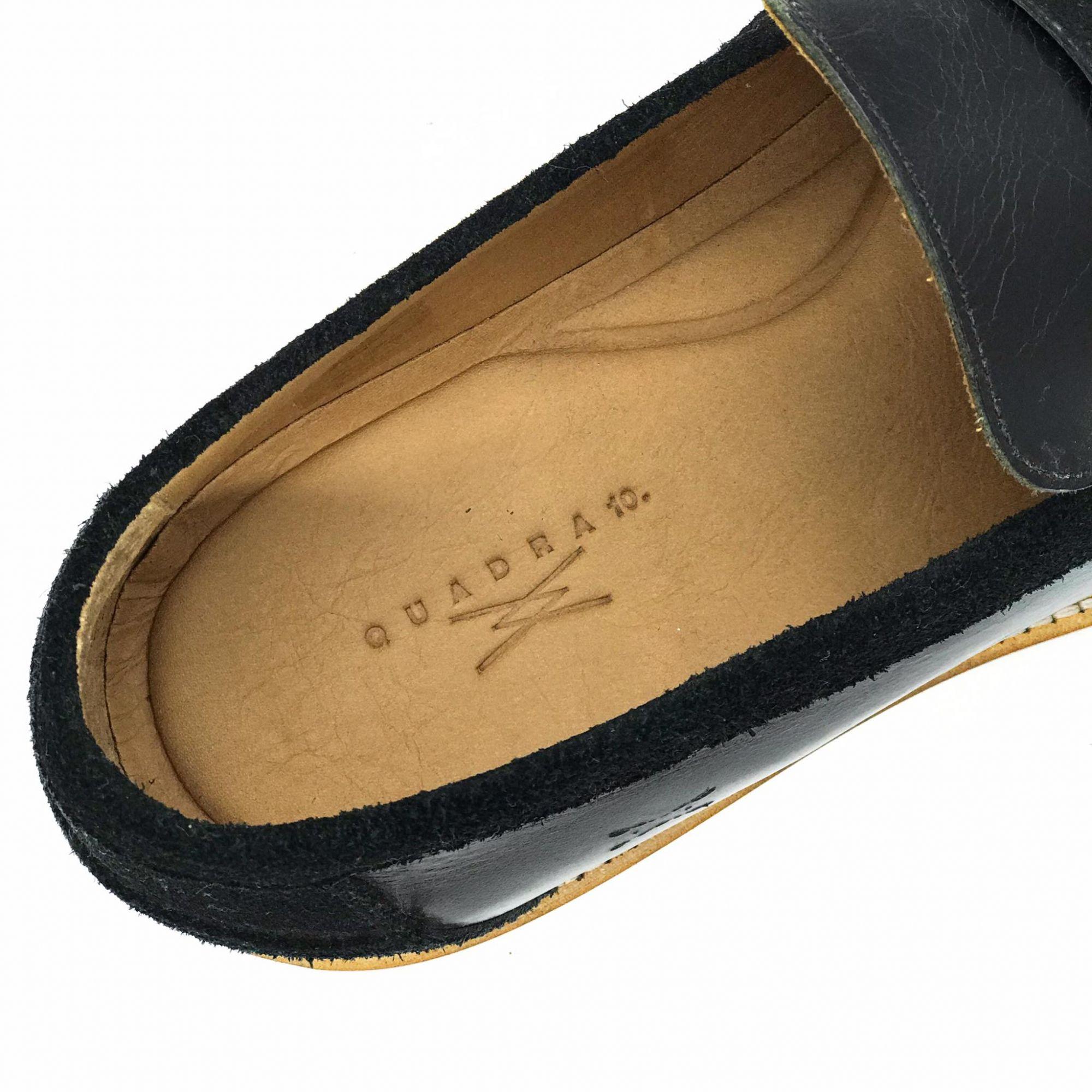 Sapato Quadra 10 Couro