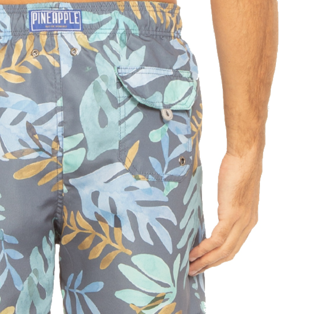 Short Pineapple Algas Azul