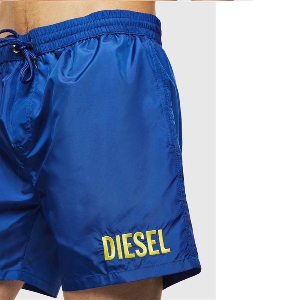 Shorts D'Água Diesel Bmbx-Wave Bordado
