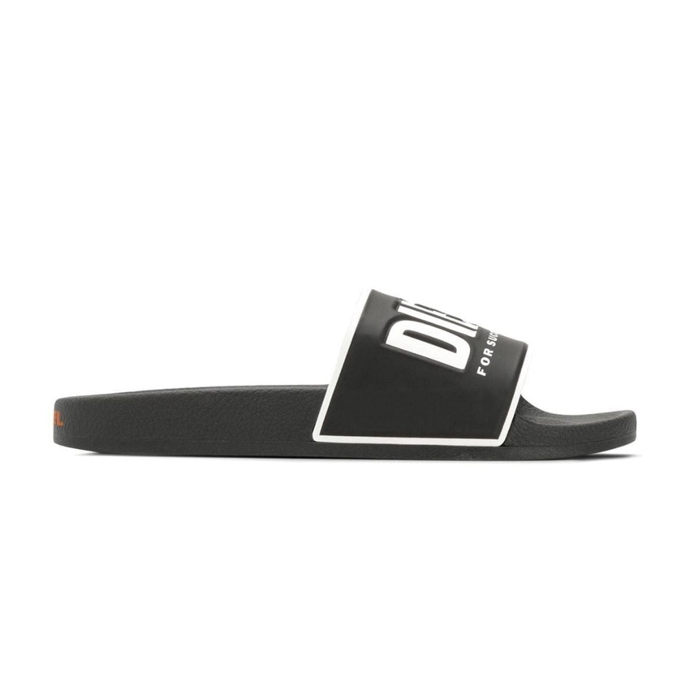 Slip-on Diesel Slides com logo