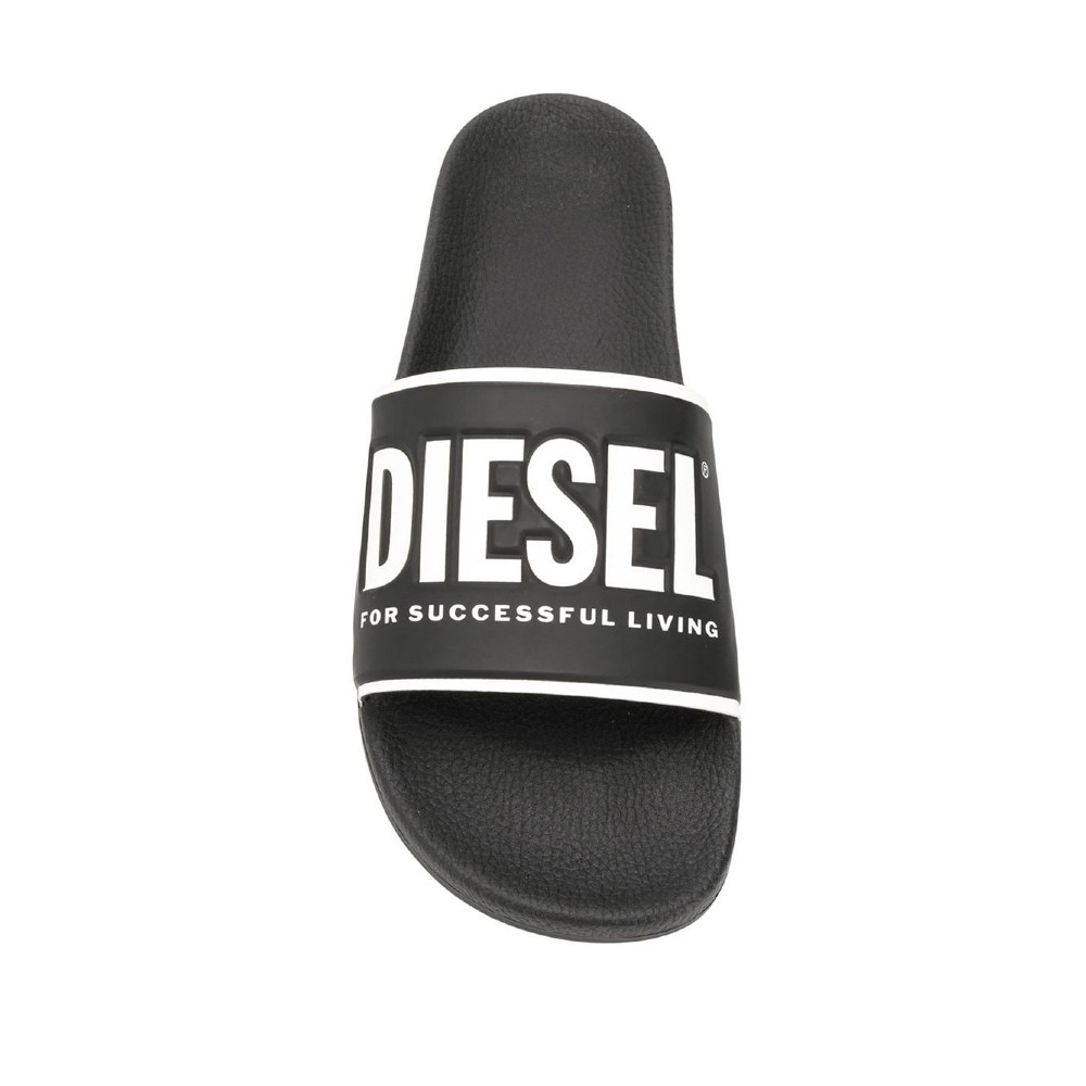 Slip-on Diesel Slides com logo