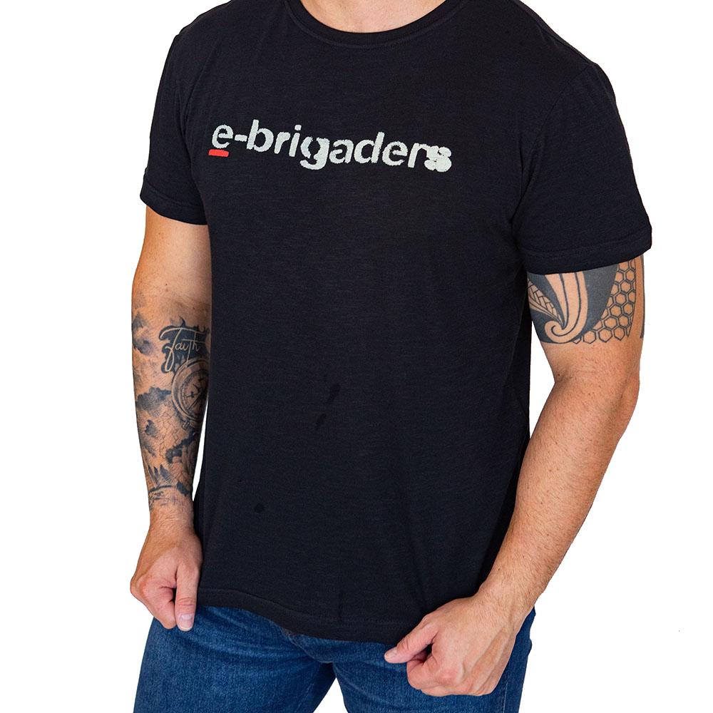 Camiseta Osklen E-brigaders Lisa Manga Curta