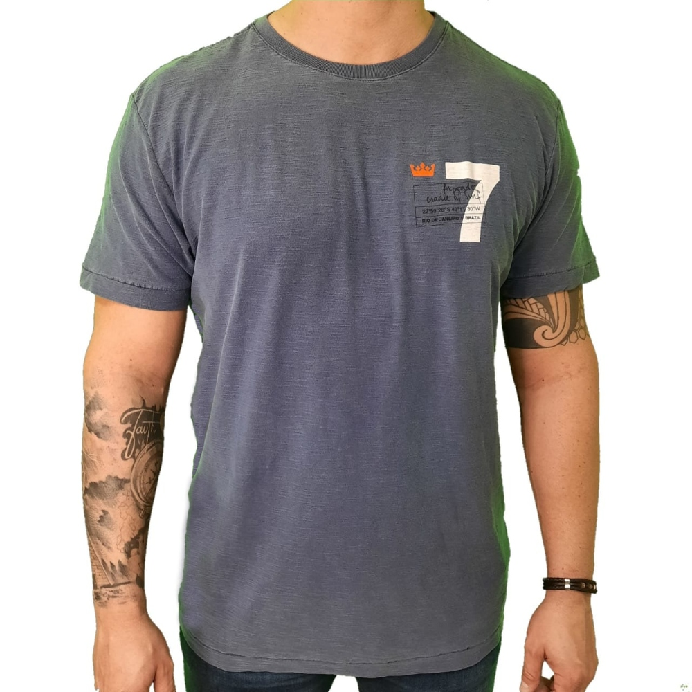 Camiseta Osklen Rough 7 Arpoador