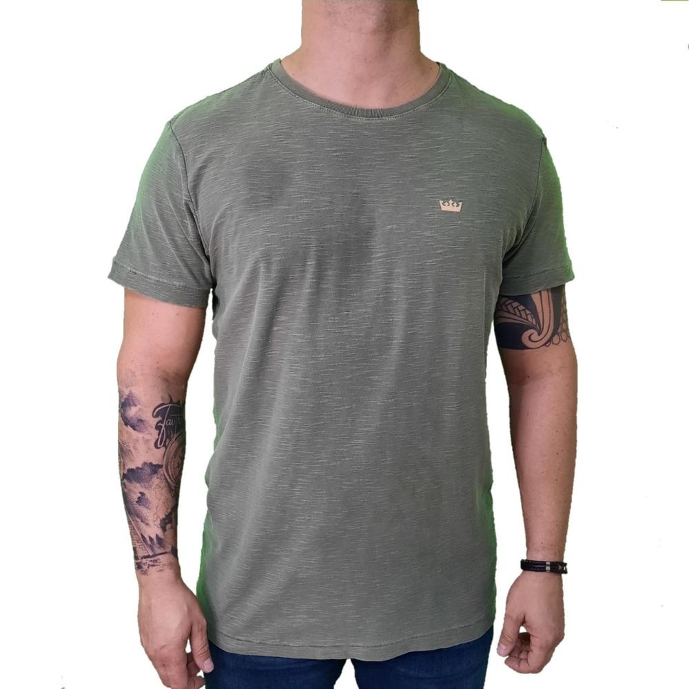 Camiseta Osklen Rough Coroa Xilo
