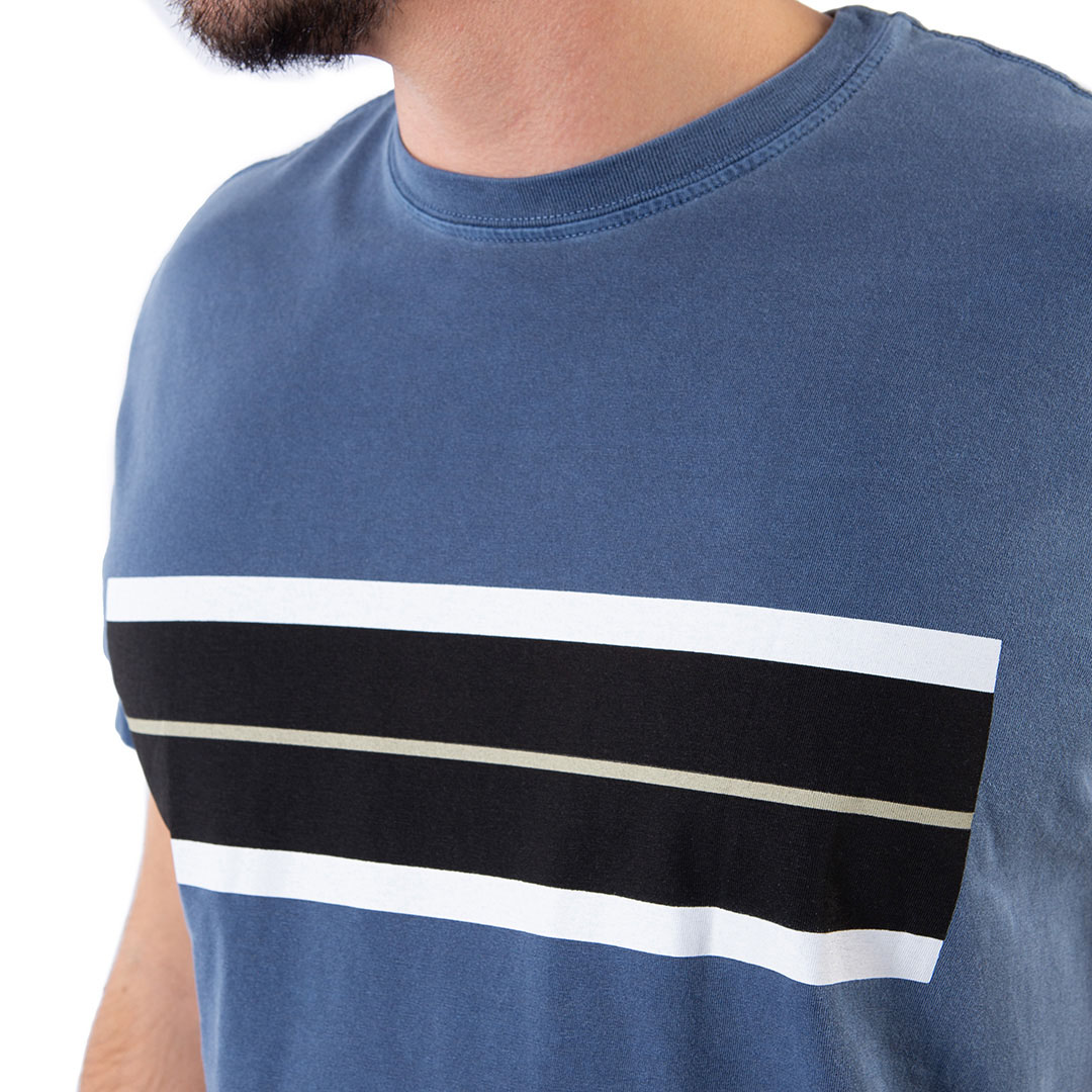 Camiseta Osklen Tira Regular Manga Curta