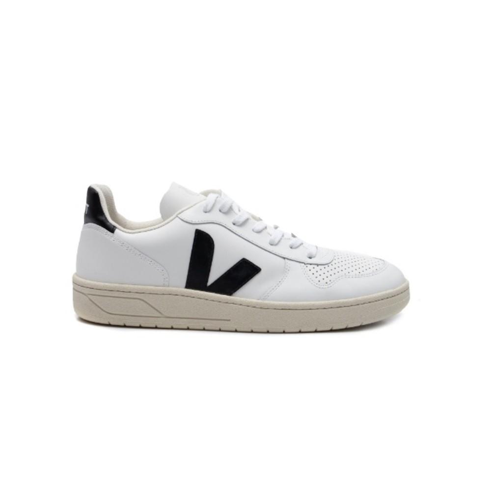 TÊNIS VERT V10 COURO - Extra-White Black