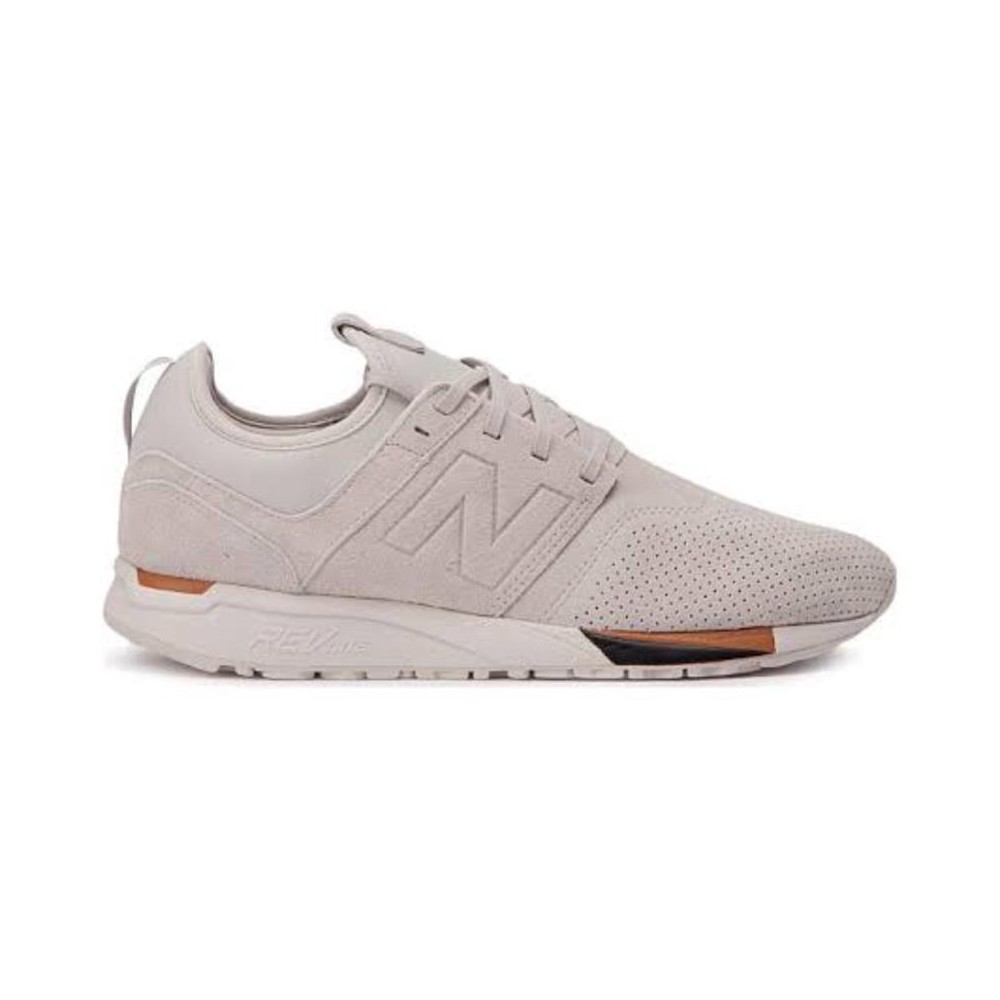 Tênis New Balance 247 luxe off white