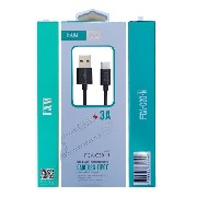 Cabo Usb Tipo C Fam FCA-C20-N 2m Fast Charger Para Android