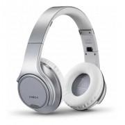 Fone de Ouvido - HeadPhone SODO MH1 Bluetooth / Auxiliar / Rádio - Prata
