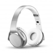 Fone de Ouvido - HeadPhone SODO MH3 Bluetooth / Auxiliar / Rádio - Prata