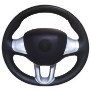 Volante Esportivo Peugeot Prata Universal