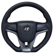 Volante Hyundai HR Esportivo Cruze Camaro Cinza Grafite Base Reta