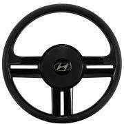Volante Hyundai HR Esportivo Rallye Universal Preto
