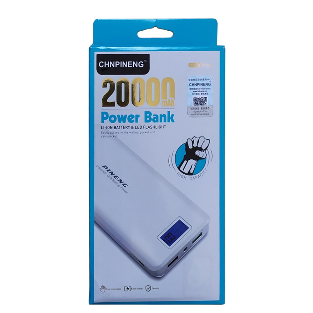 Carregador Portátil Power Bank 20.000mah Fast Charger