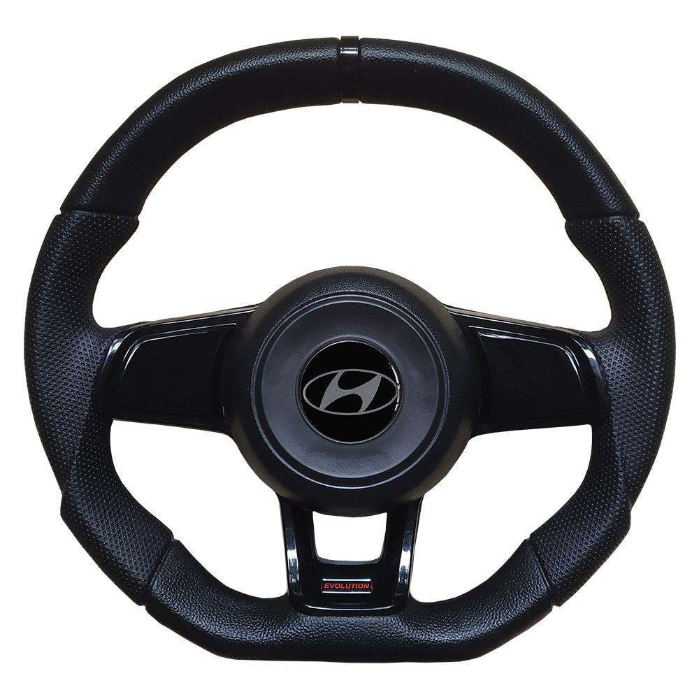 Volante Hyundai HR Esportivo GTI MK7 Evolution Preto