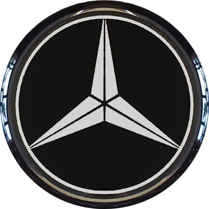 Emblema MERCEDES 50MM Resinado