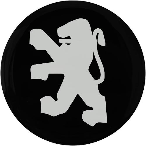 Emblema PEUGEOT 50MM Resinado