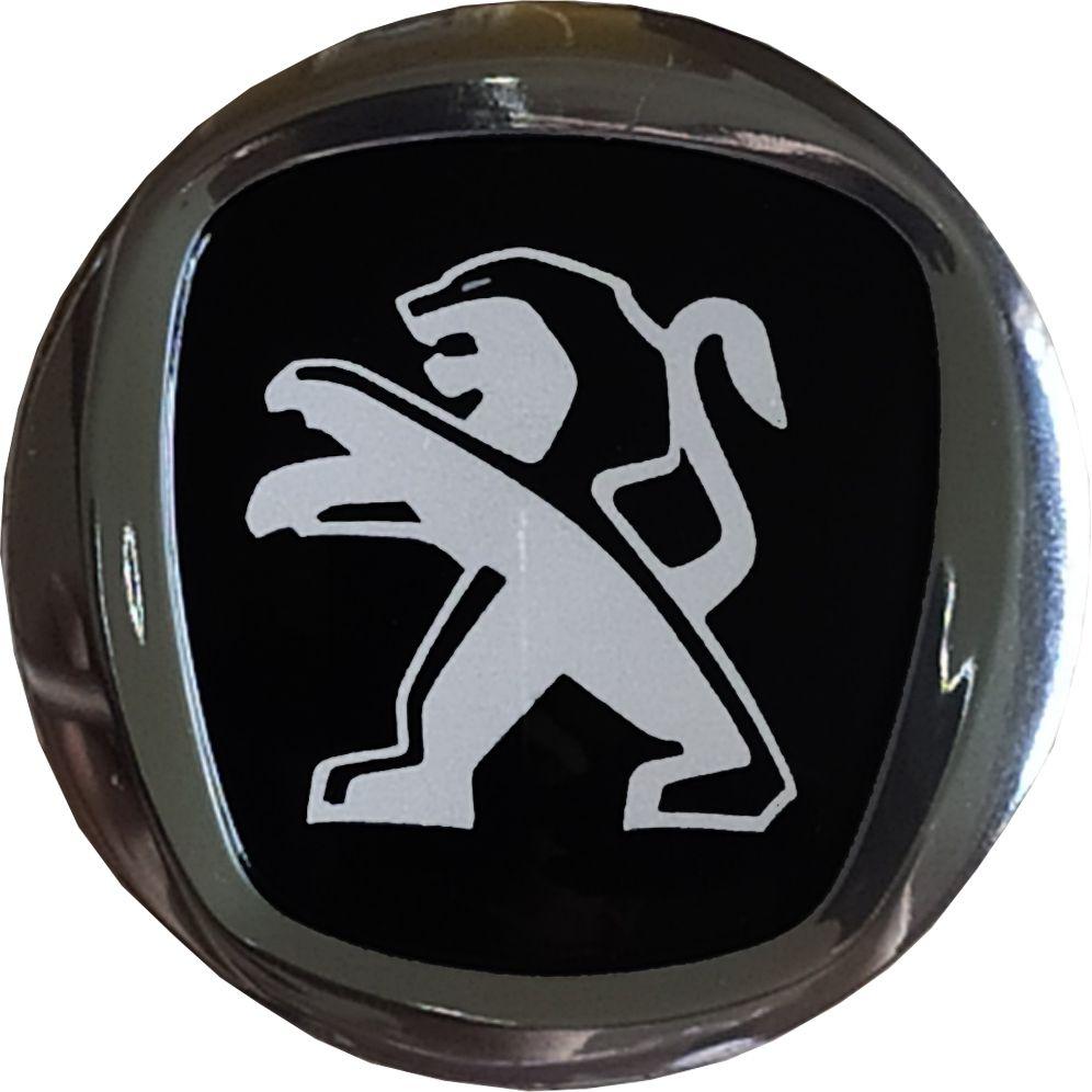 Emblema PEUGEOT Cromado 50MM Resinado