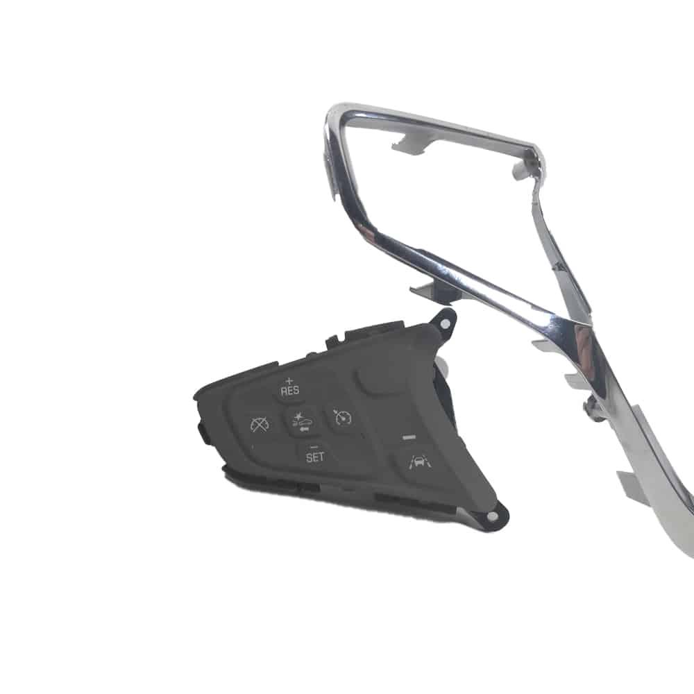 Moldura Volante Cromada C/ Controle Gm Cruze- 3095500- Original
