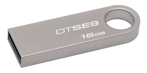 Pendrive Kingston Datatraveler Se9 16gb Prateado