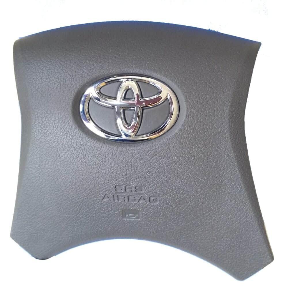 Tampa Capa Volante Airbag Toyota Hilux 2011 a 2015 Marrom Nova
