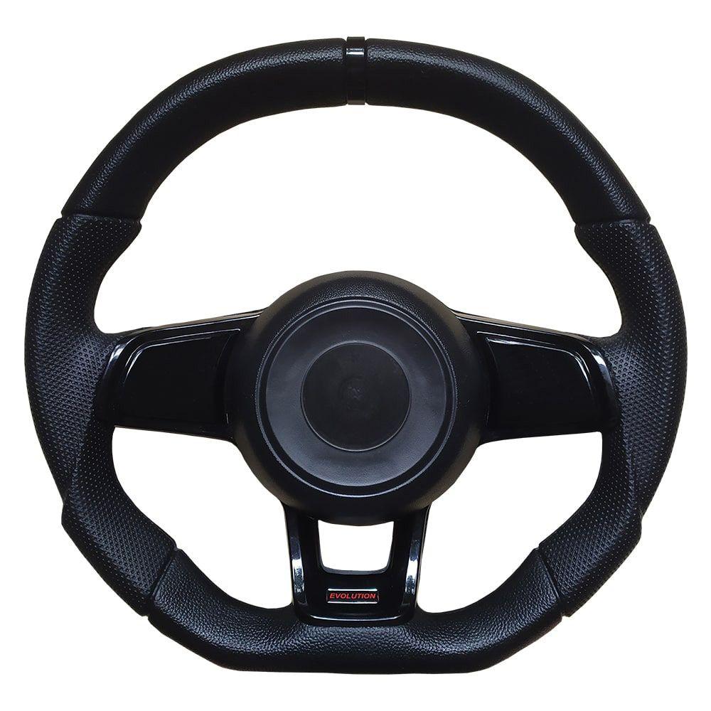 Volante Esportivo GTI MK7 Evolution Preto Universal
