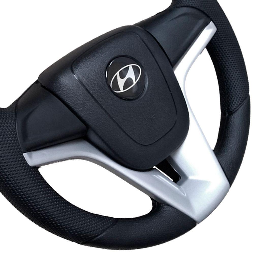 Volante Hyundai HR Esportivo Cruze Camaro Prata
