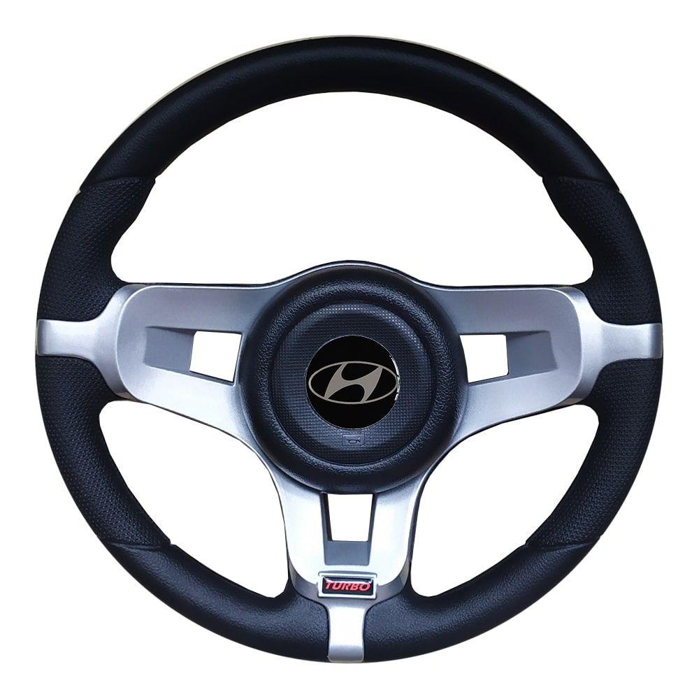 Volante Hyundai HR Esportivo Mustang Universal Prata