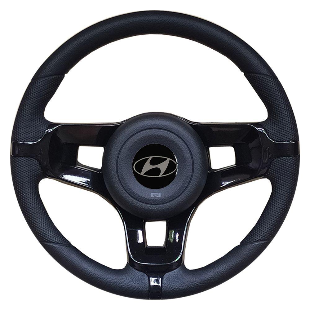 Volante Hyundai HR Esportivo Mustang Universal Preto