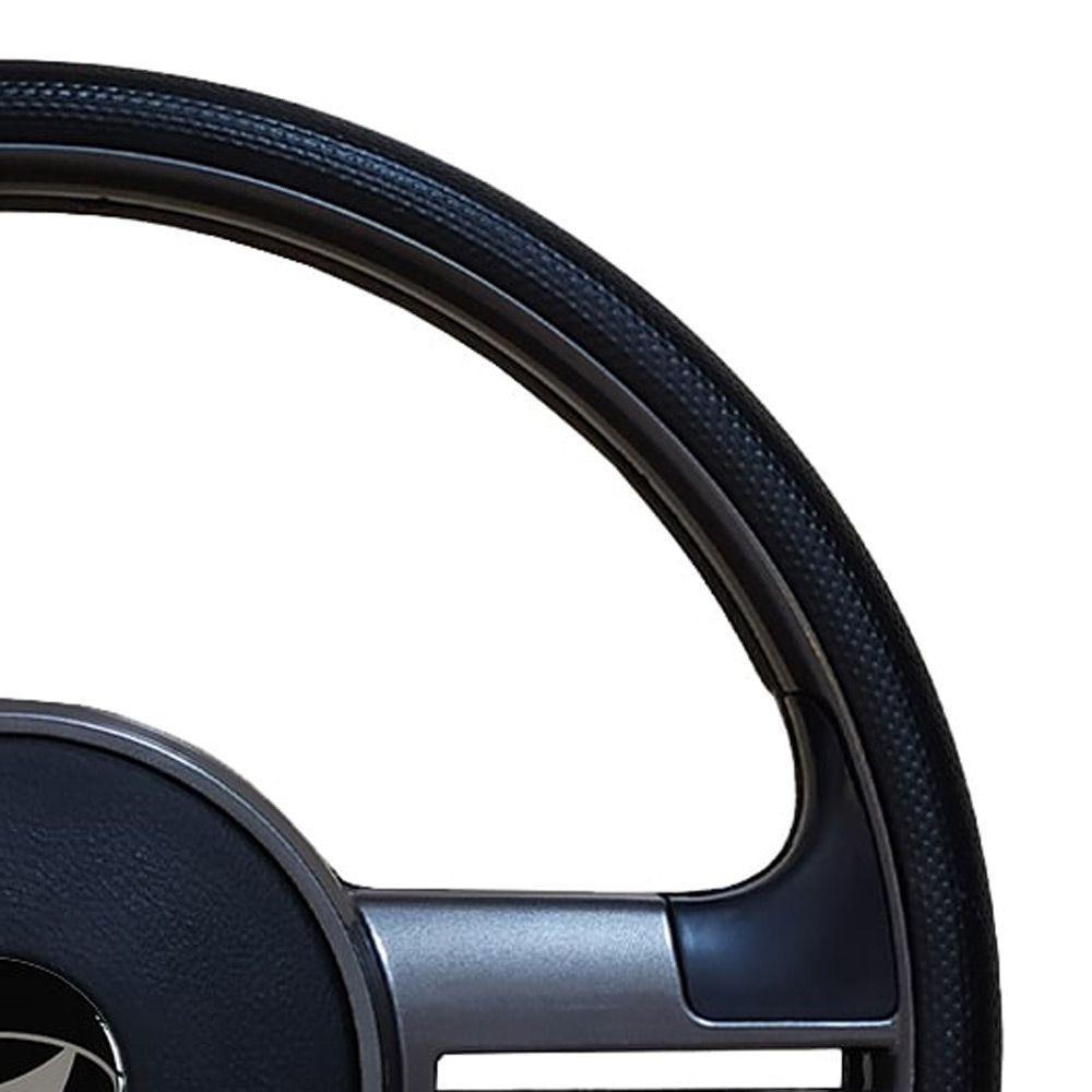 Volante Hyundai HR Esportivo Rallye Universal Cinza Grafite