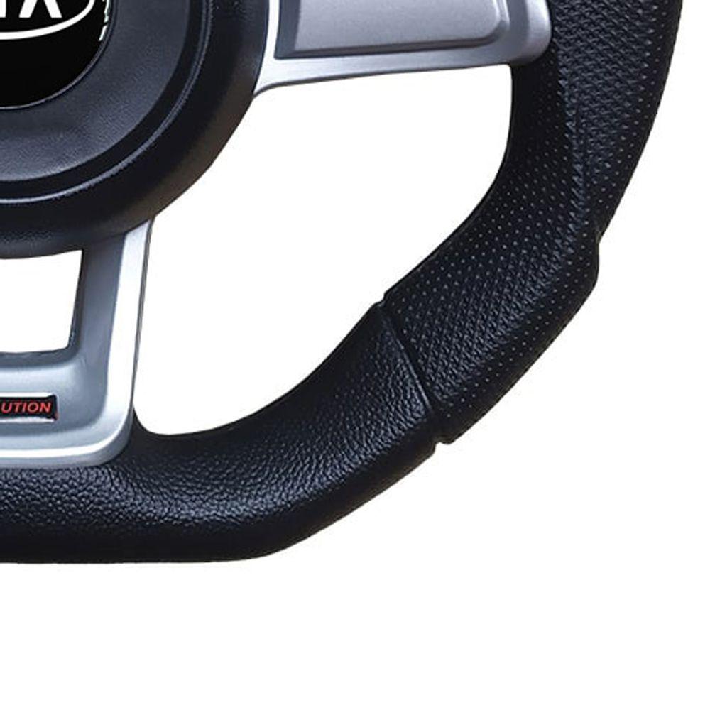 Volante Kia Bongo Esportivo GTI MK7 Evolution Universal Prata