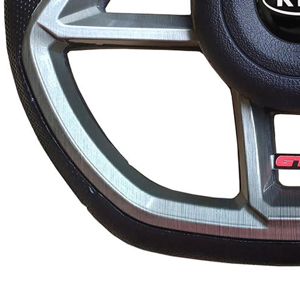 Volante Kia Bongo Esportivo GTI Vision Universal Cinza Grafite