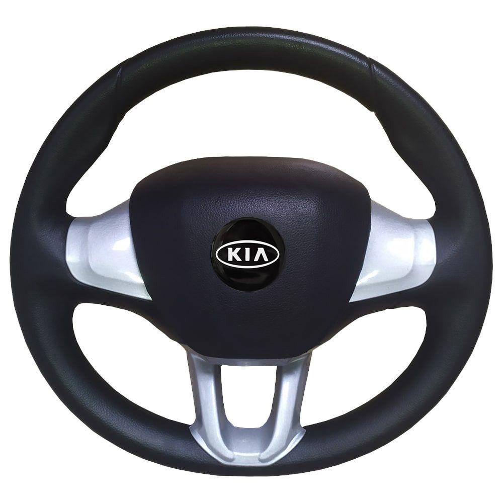 Volante Kia Bongo Esportivo Peugeot Universal Prata