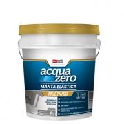 Manta Elástica Impermeabilizante Acrílica Acquazero 4kg  Azul