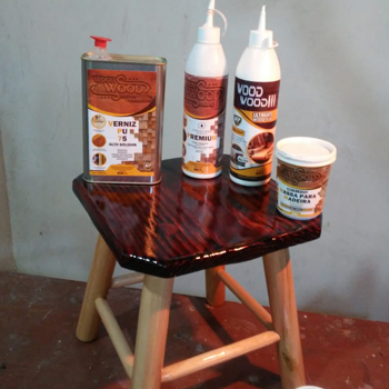 2 Colas para Madeira  Wood Wood 1,1KG