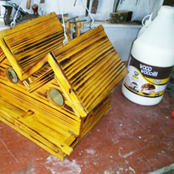 Kit Cola para Madeira Wood Wood 3 497g 4 unidades
